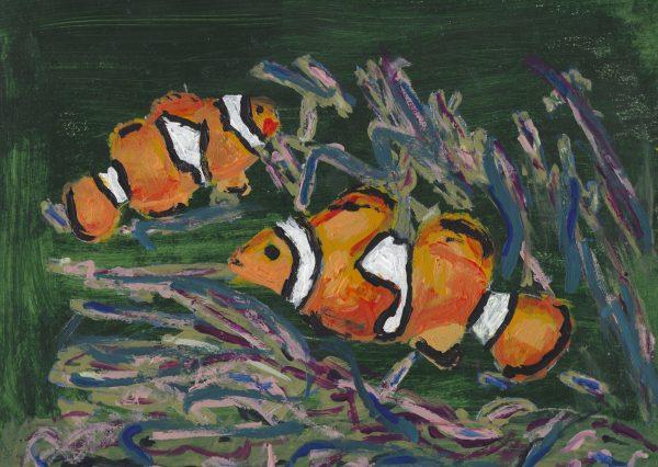 DS Nemo 9×12 acrylic $40 2-18