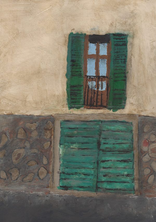 JO Villa Window 9×12 mixed $45 2-17