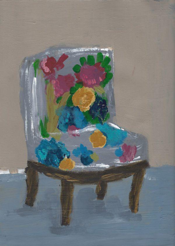 JeB Floral Comfort 9×12 acrylic $45 11-17