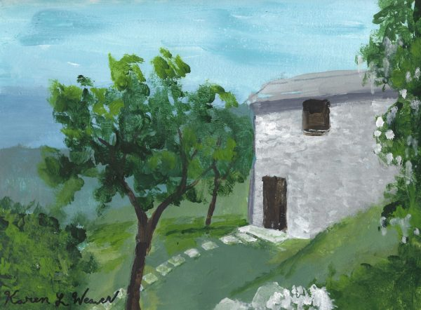 KW Countryside Housing 9×12 acrylic $45 1-18