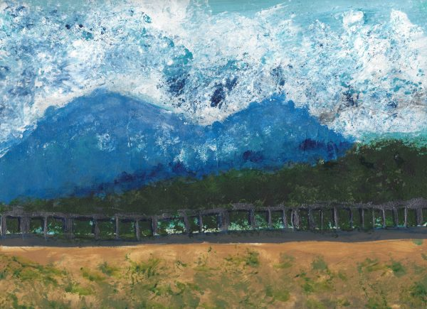 SaL Mountain Pass 9×12 acrylic $50 3-16