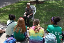 Ranger Amy explained how to become a SCIP intern
