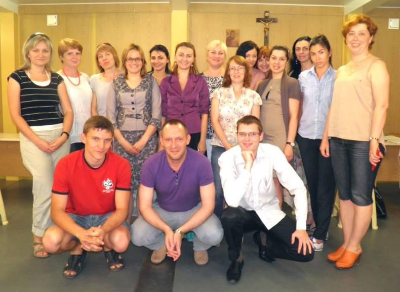 The Kharkiv AVP team of volunteers, June 2015