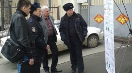 Outside the draft office in Kazan