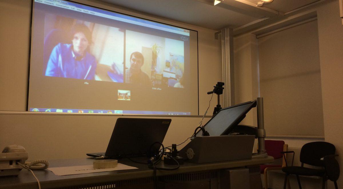 Skype at BYM 2015