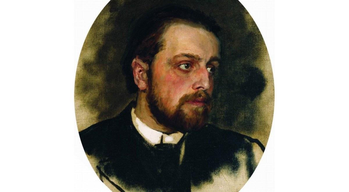 Portrait of Chertkov by Repin (Wikipedia public domain)