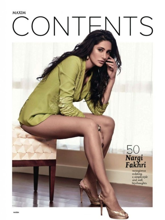 Nargis Fakhri Latest Hot Maxim 2013 Photoshoot Photos, Nargis Fakhri Maxim Magazine July 2013 HQ Pictures