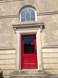 The side door