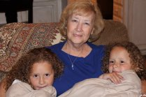 Grammy with Kira and Nola