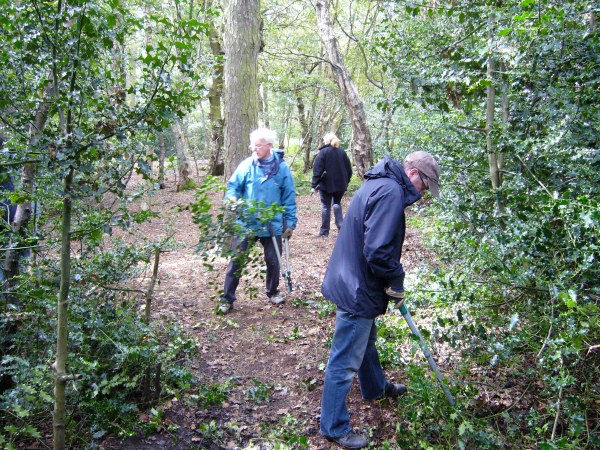 Sunday 6 September 2009: Path clearing | Friends of Adel Woods