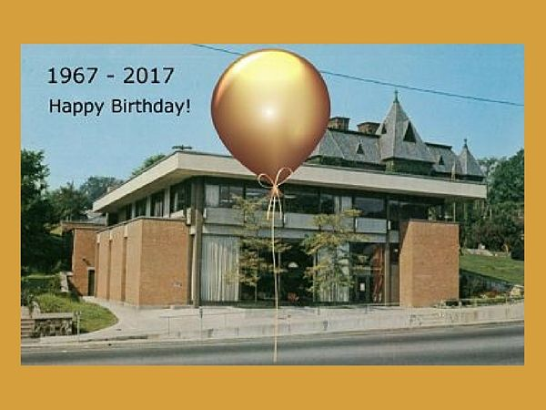 library's 50th birthday
