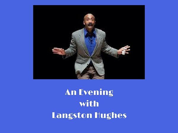 Langston Hughes, portrayed by David Mills