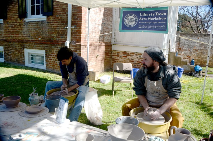 Libertylown pottery