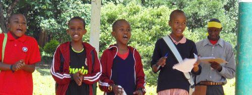 Kids at one treasure hunt activity by cngarachu