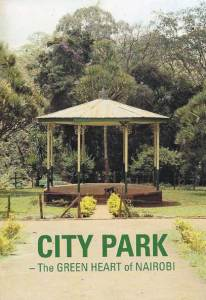 City Park guidebook