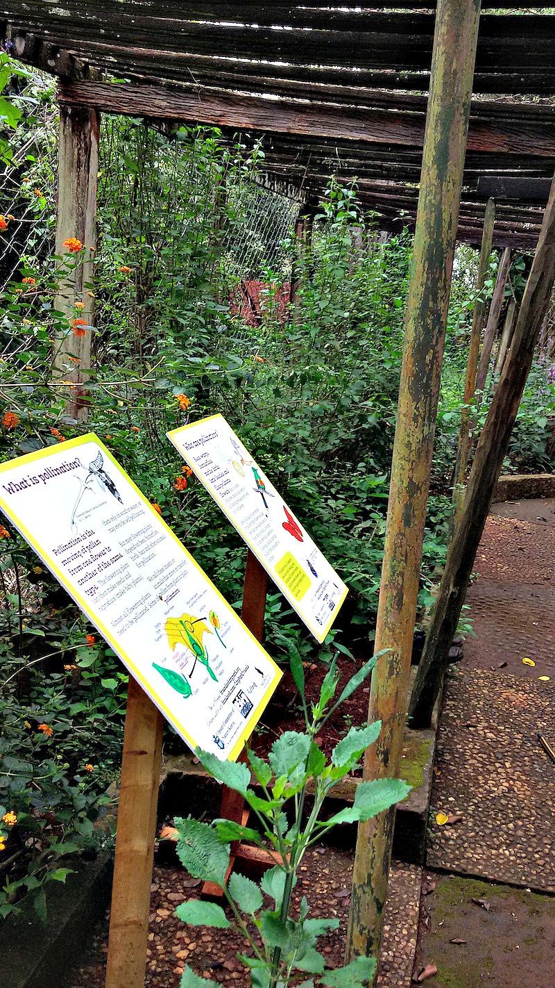 Garden information boards