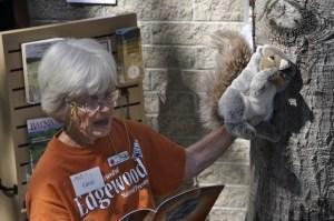 Squirrel puppet
