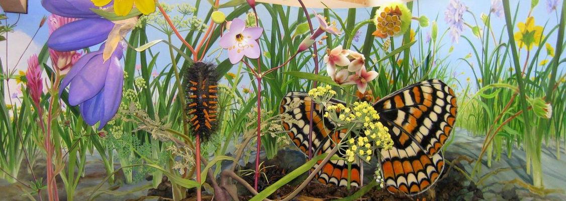 Life in serpentine exhibit