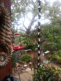 Rain Chains gather dew and rain