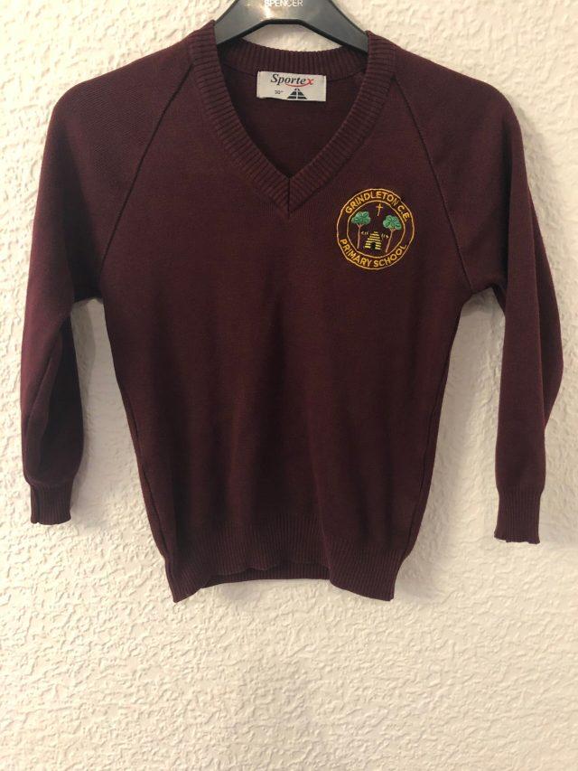 Grindleton School Jumper (size 30