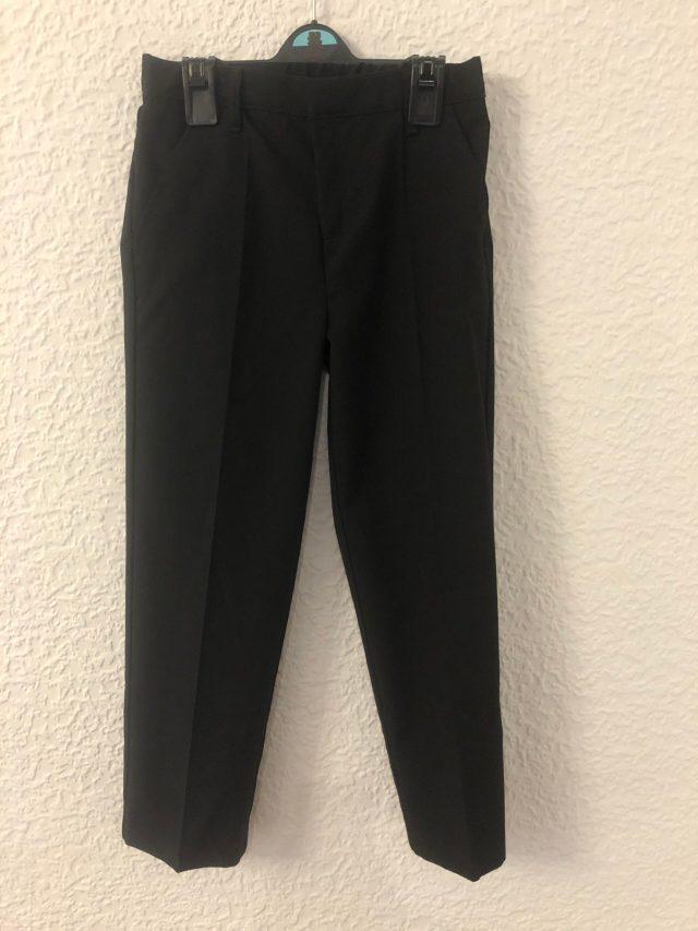 Black School Trousers (size 6-7 years)