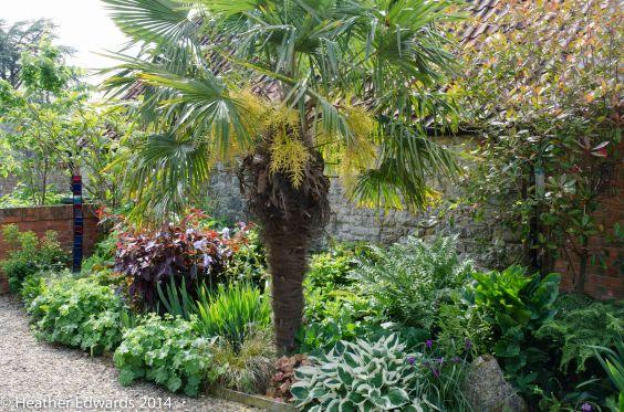Margy's garden at Alham House