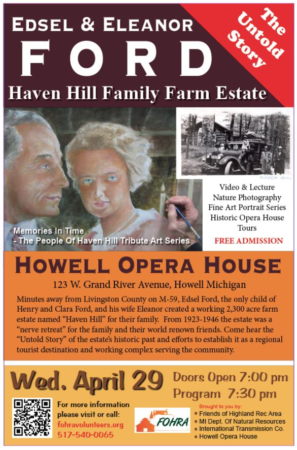 Haven Hill - The Edsel & Eleanor Ford Family Farm Estate The Untold Story (2/2)