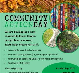 Community Action Day for the Peace Garden