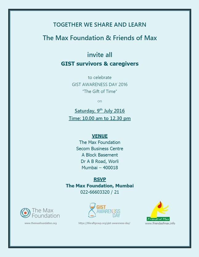 Mumbai GIST Meet poster 9th July 2016 (1)