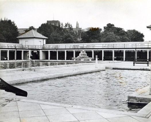 the teaching pool