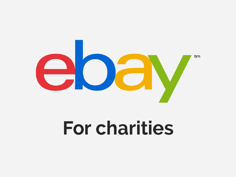 ebay for charities