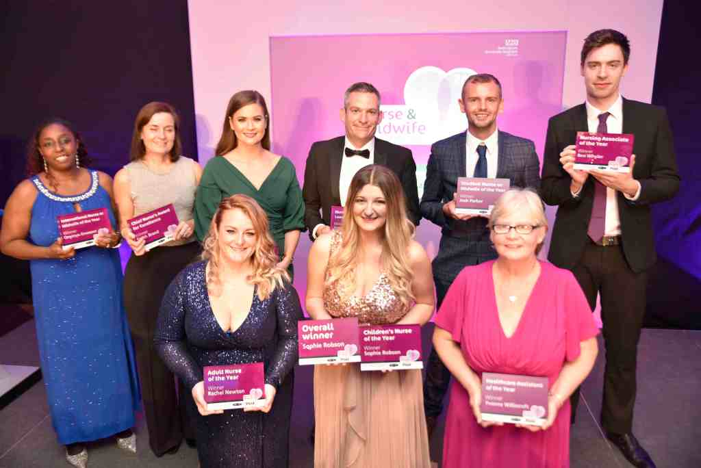 Nurse and Midwife of the year 2019 winners