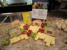 Selection of Cabot Cheese, donated by them to the preview Gala.
