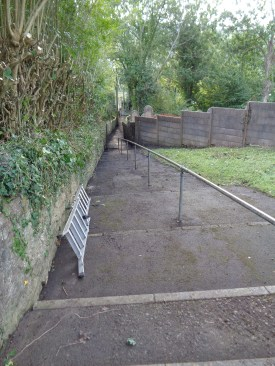 Footpath after Be Tidy