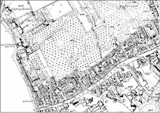 Historical Friends of St Pauls Rec Brentford Map
