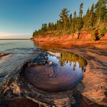 Devil's Looking Glass-Apostle Islands Print of the Year for 2018