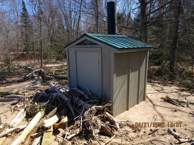 York Island Vault Toilet