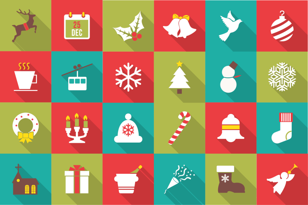 Friends Holiday Graphic