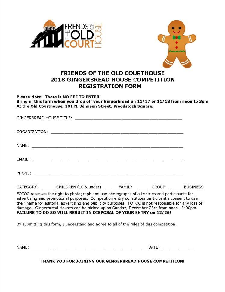 Gingerbread Registration form Final 2018