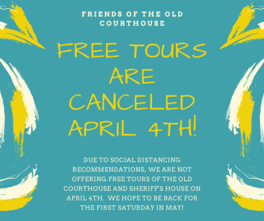 FREE TOURS ARE CANCELLED APRIL 4TH!