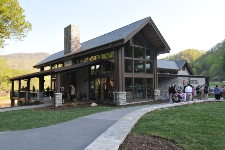 Oconaluftee Visitors Center Great Smoky Mountains National Park