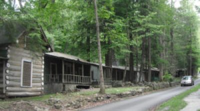 Daisy Town cottages in Elkmont