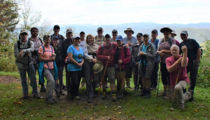 FOTS Oct 2018 Classic Hike - photo by Linda Spangler