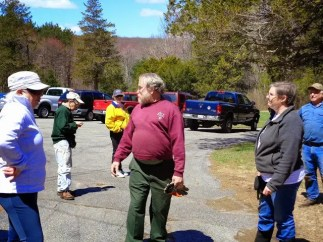 Park Serve, Upton State Forest Val saying ty