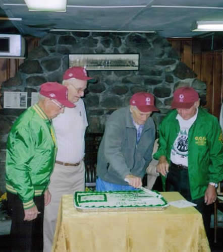 CCC Day Alumni Cutting Cake