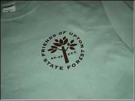 Friends of Upton State Forest T-shirt logo
