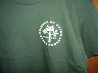 Friends of Upton State Forest Green Children's T-Shirt Logo