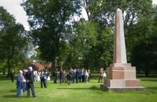 Whitworth Obelisk unveiling