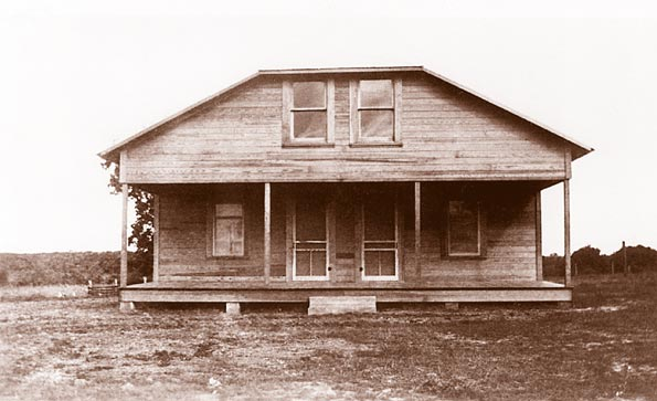 1930's view of the Spies house