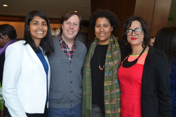 SARAH GISH PHOTO.Kavita Singh, Trevor Boffone, Rachel Afi Quinn, Sarah Luna